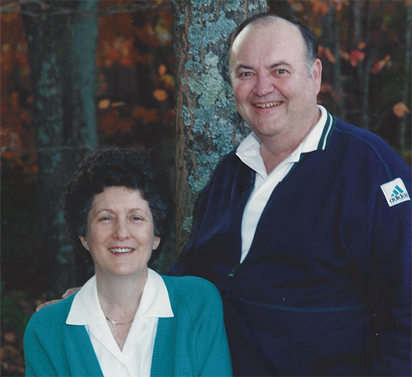 Bob Henderson and Wife
